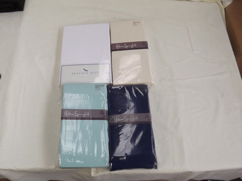 "kingsize brushed cotton flannelette fitted sheet 5' x 6'6"" bed"