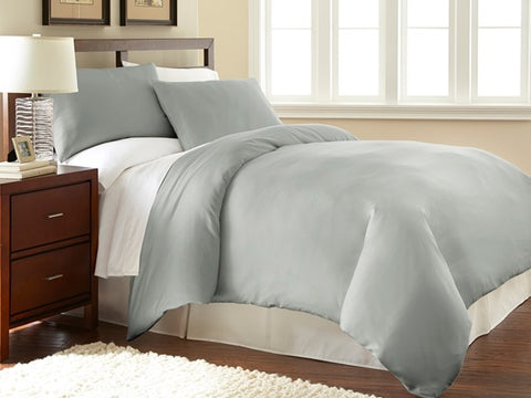 Flannelette 100% brushed cotton Double duvet cover set