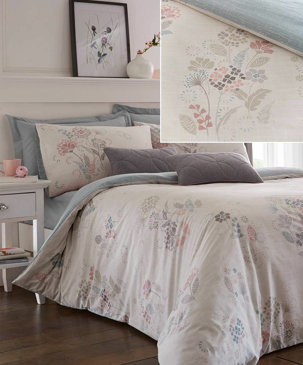 Dreams and Drapes Olanda blush| Easy Care Duvet Cover