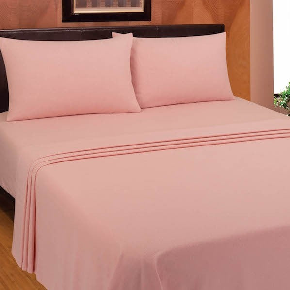 "Flannelette fitted sheet 100% brushed cotton 4'6"" x 6'3"" (135cm x 190cm) bed 8"" 10"" 12"""