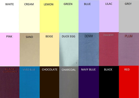 (SAMPLES) 68 Pick 50%polyester 50%cotton bed sheeting saltzer loom quality