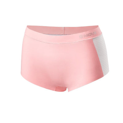 Move Performance Underwear Underwear X-Small / Rose / White The Meribel - Airflow Boyleg