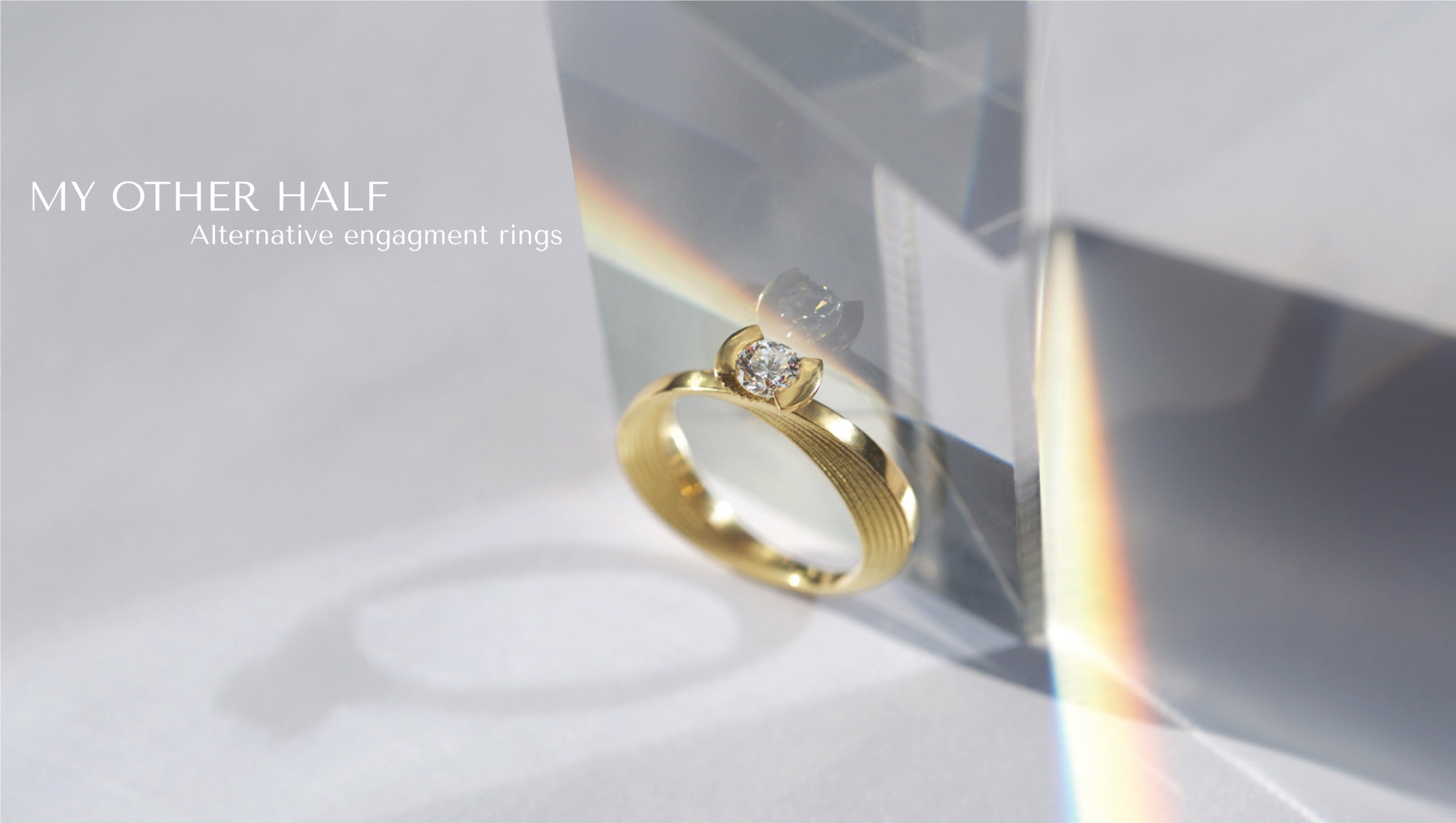 Ana Thompson Fine Jewellery - My Other Half Gold and Diamond Engagement & Wedding Rings