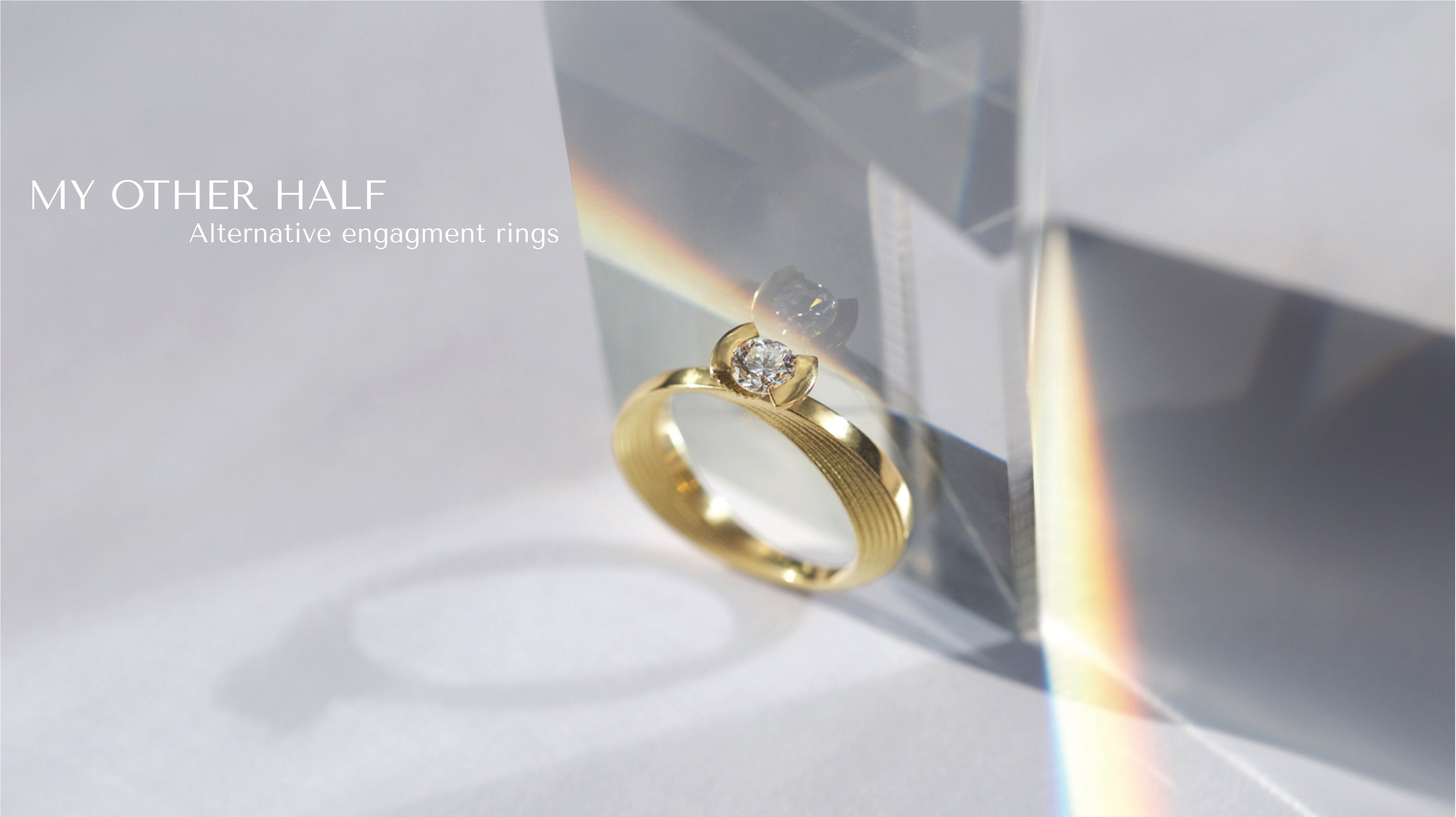 Ana Thompson Fine Jewellery - My Other Half engagement ring 2020