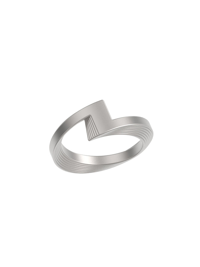 18K White Gold Synergy Ring