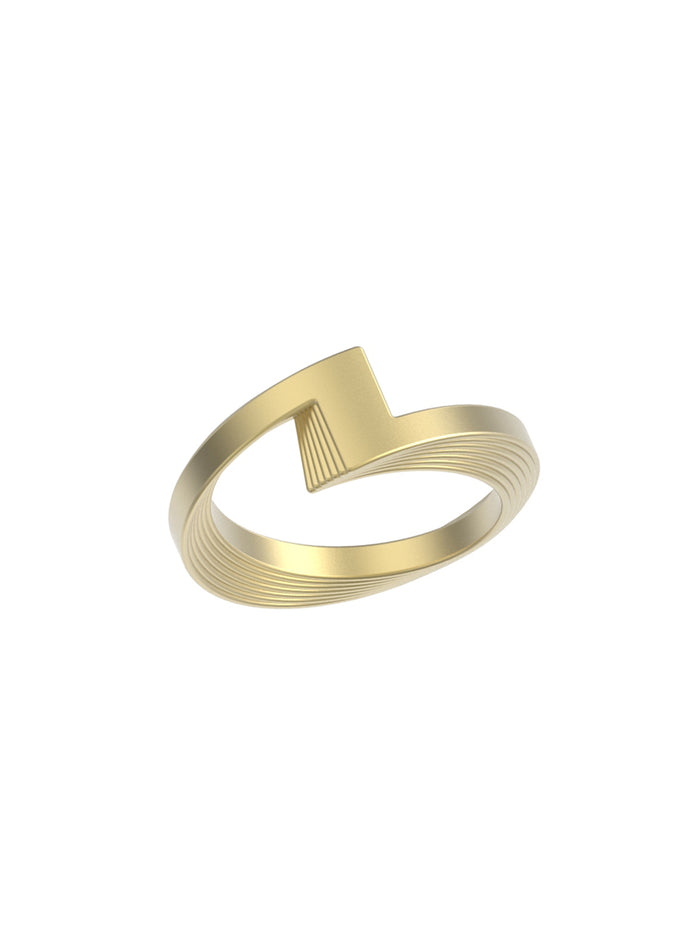 18K Yellow Gold Synergy Ring