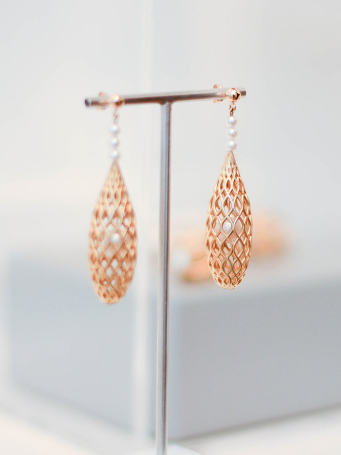 Hidden treasures earrings