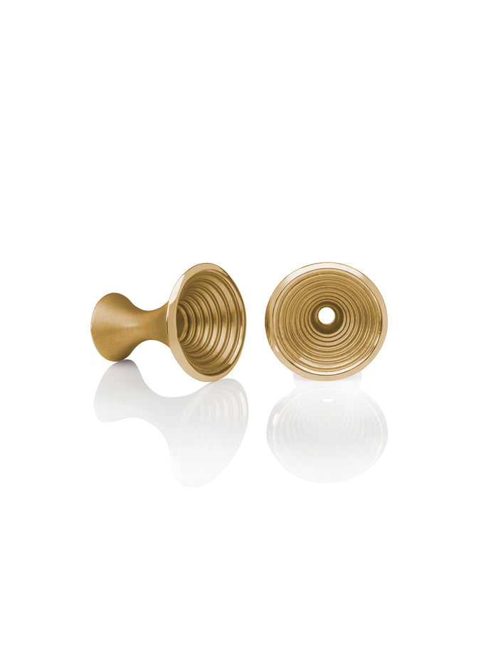 18K Yellow Gold Whirl Cufflinks