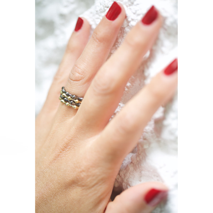 Micro GPN stacking rings