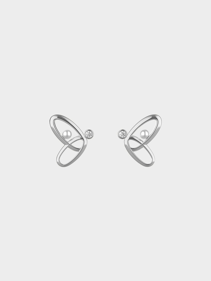 Micro Stellar Orbit Earrings