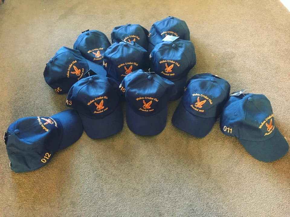 Custom Club Cricket Playing Caps-Select Cricket Store