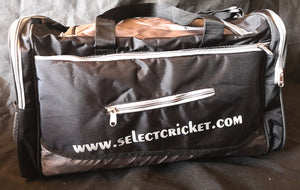 Select 2020 Black Holdall Bag-Select Cricket Store