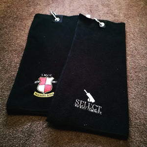 Custom Club Golf Tri-Fold Towels-Select Cricket Store