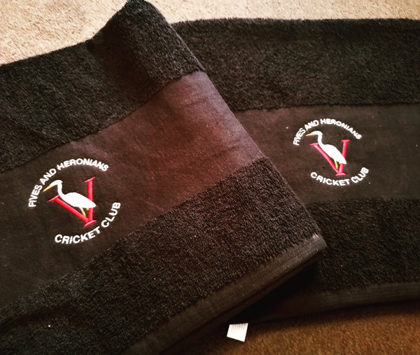 Custom Club Bath Towels-Select Cricket Store