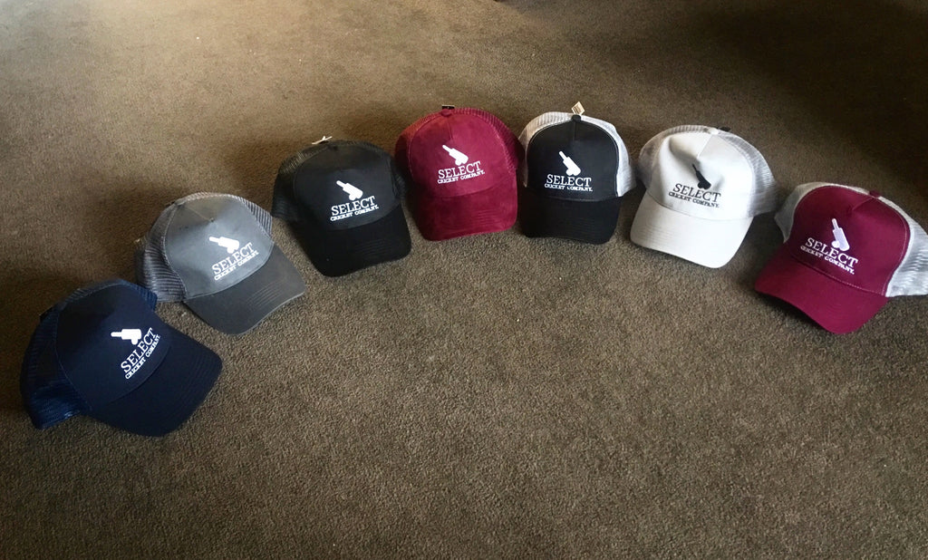Select Cricket Company Trucker Cap-Select Cricket Store