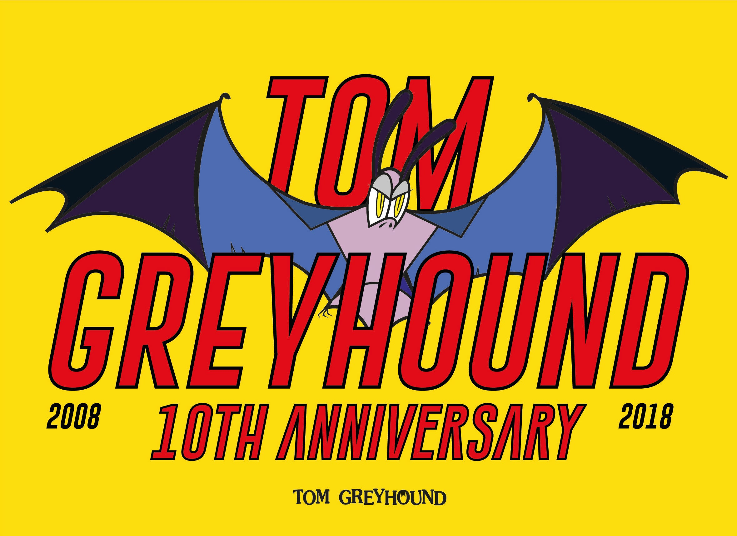 Tom Greyhound Seoul 10<sup style='text-transform: lowercase'>th</sup> anniversary