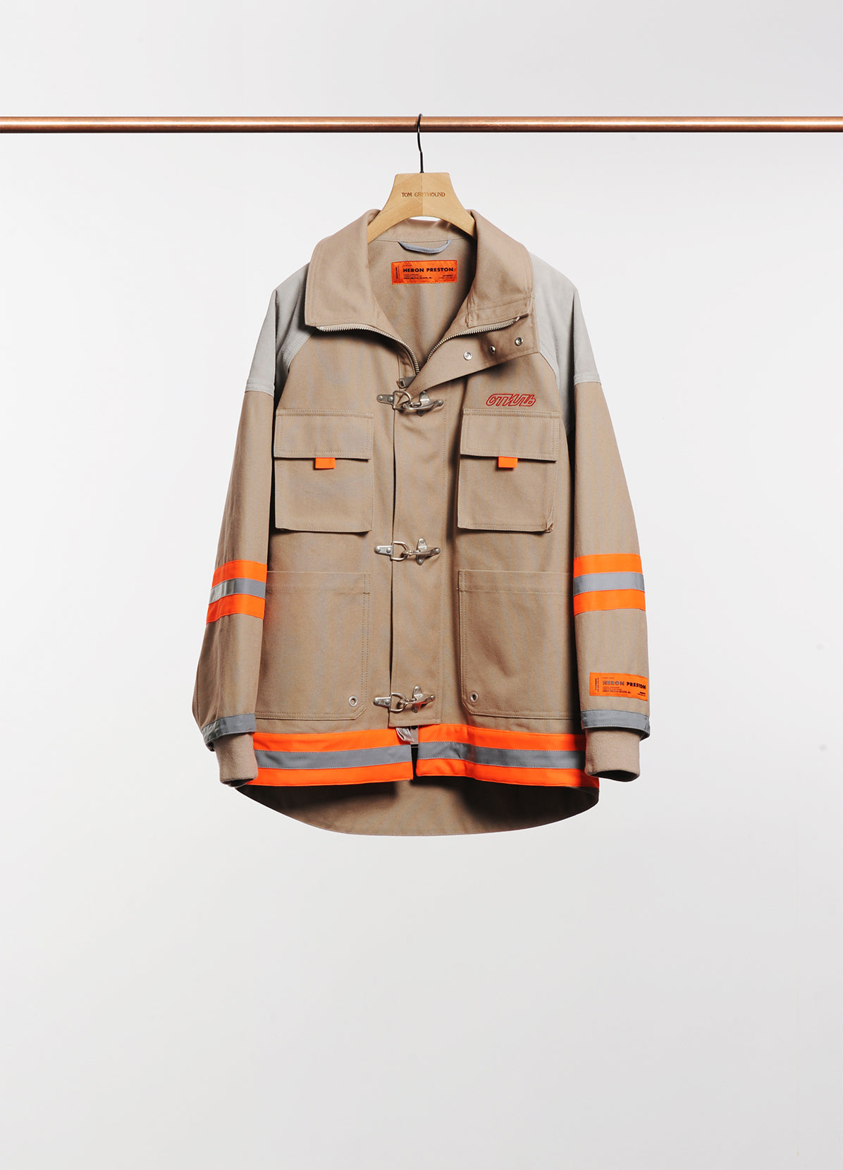 CANVAS FIREMAN JACKET