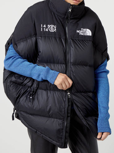 MM6 X TNF CIRCLE NUPTSE JACKET