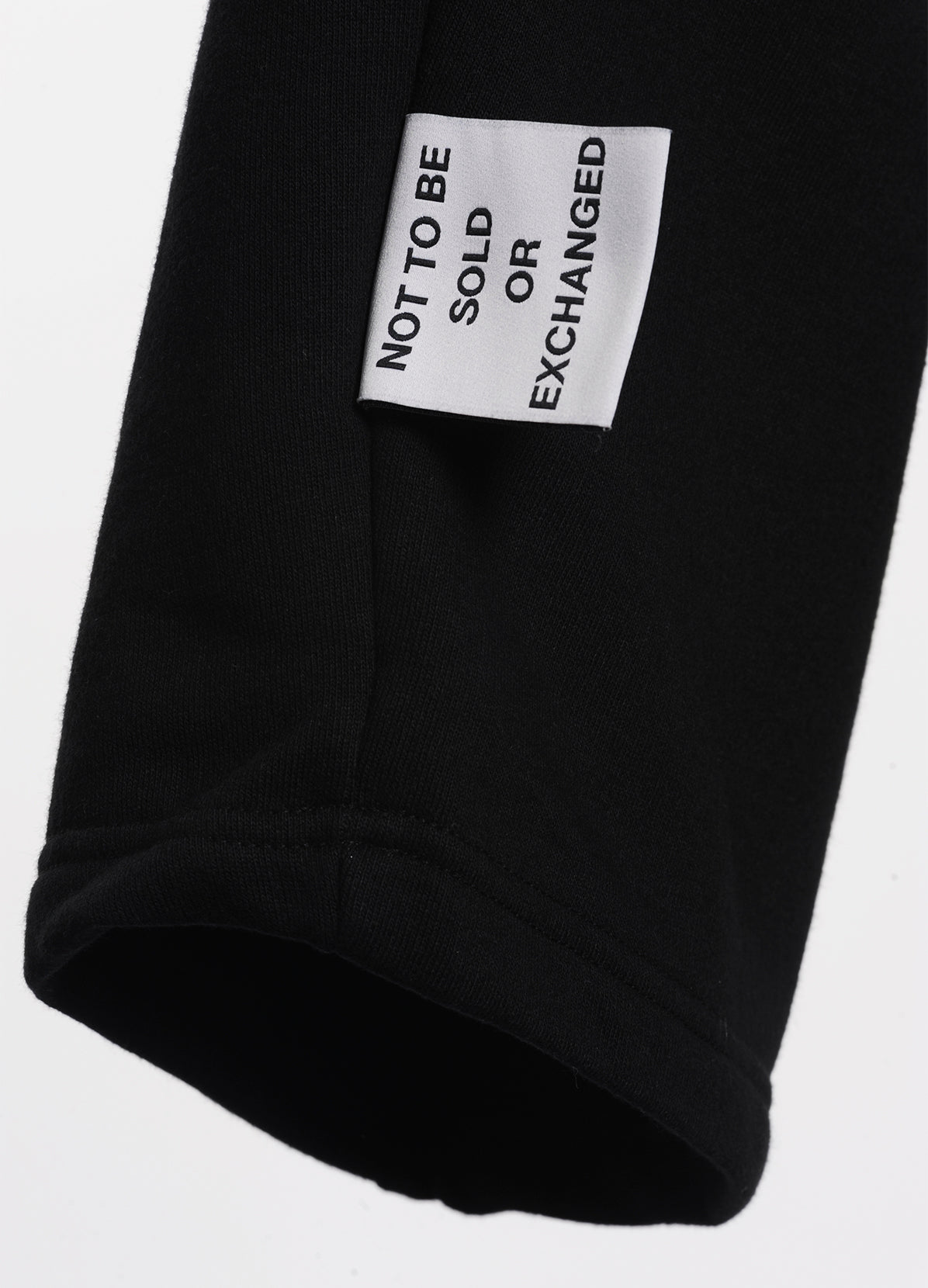 COTTON SWEAT PANTS THAT IS CONSTRUCTED INTO A SWEATER