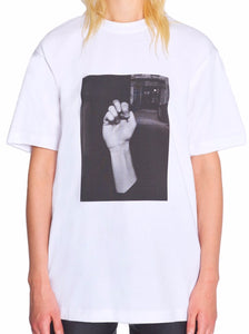 "TSHIRT WITH FRONT PRINT ""FIST"""