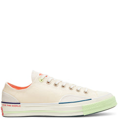 CHUCK 70 OX WHITE/VAST GREY/BARELY VOLT