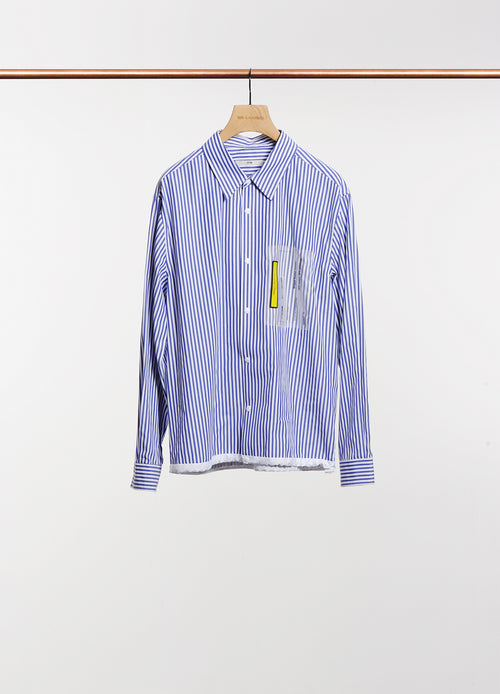 STRIPE PATCH SHIRT