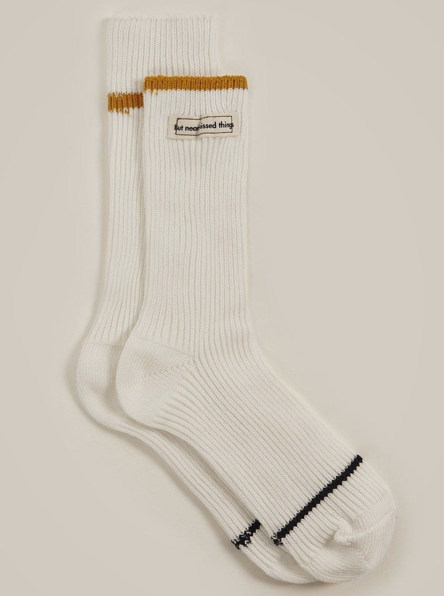 COTTON LABEL DETAIL SOCK