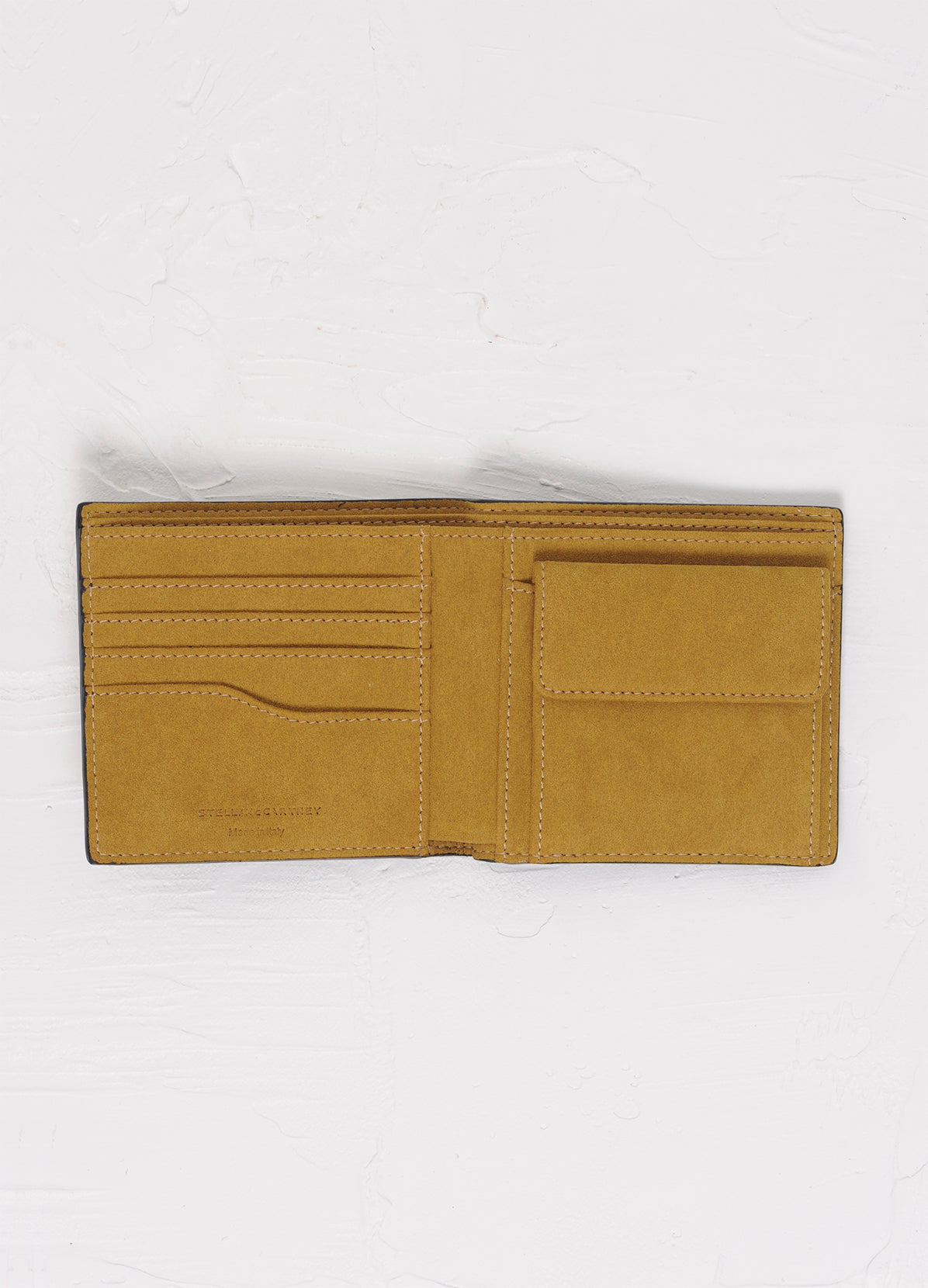 BIFOLD WALLET WITH PERFORATED LOGO