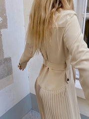 LIGHT BEIGE DRESS