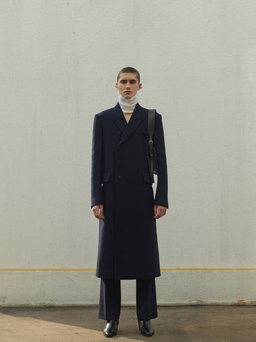 DARK NAVY COAT