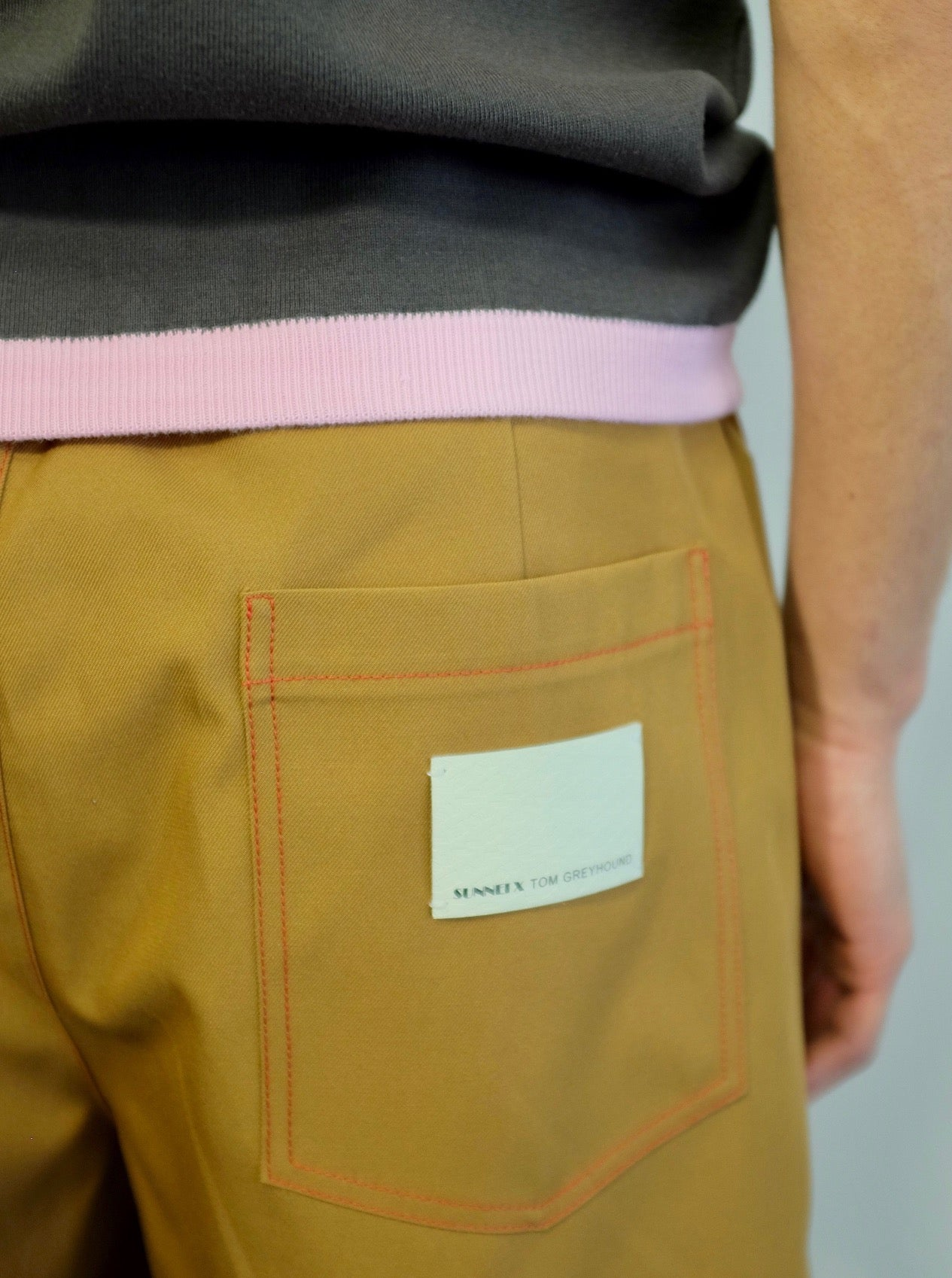 SUNNEI X TOM GREYHOUND ELASTIC SHORTS
