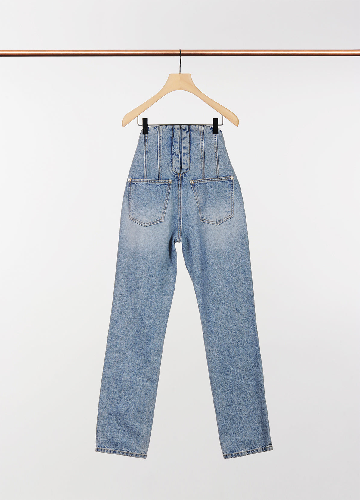 BACK-UP STRAIGHT JEANS