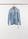 BLEACH DENIM SHIRT