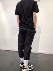 HALF-OVERSIZED FIT T-SHIRT