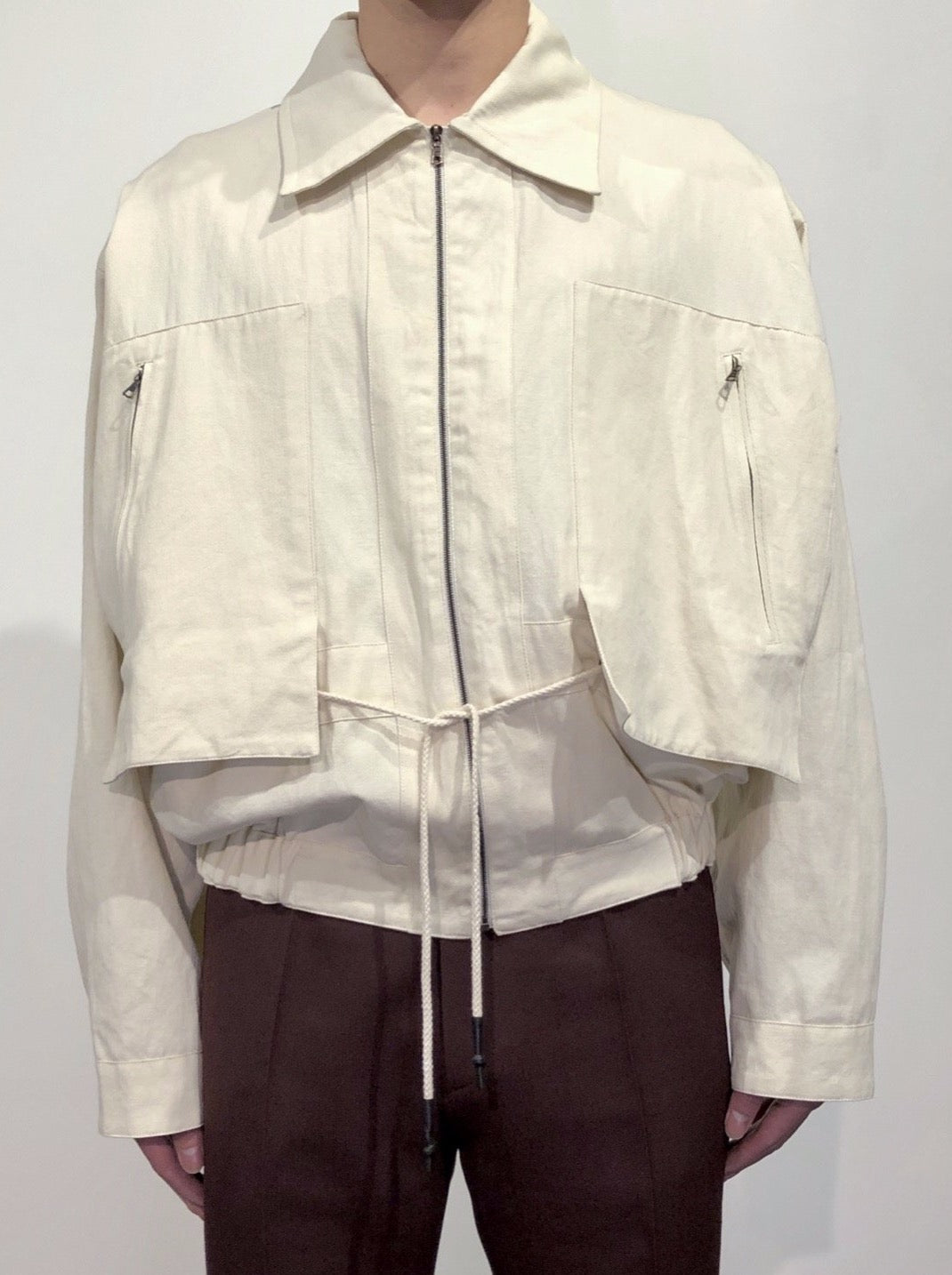 BLOUSON WITH PATCH POCKETS