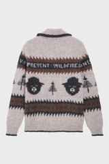 SMOKEY BEAR CARDIGAN