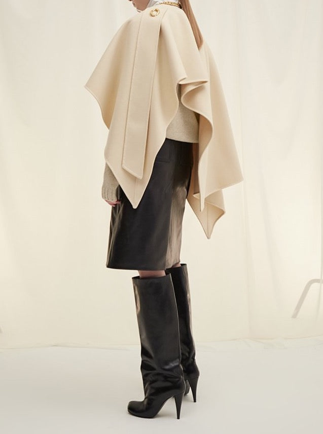 LIGHT BEIGE CAPE