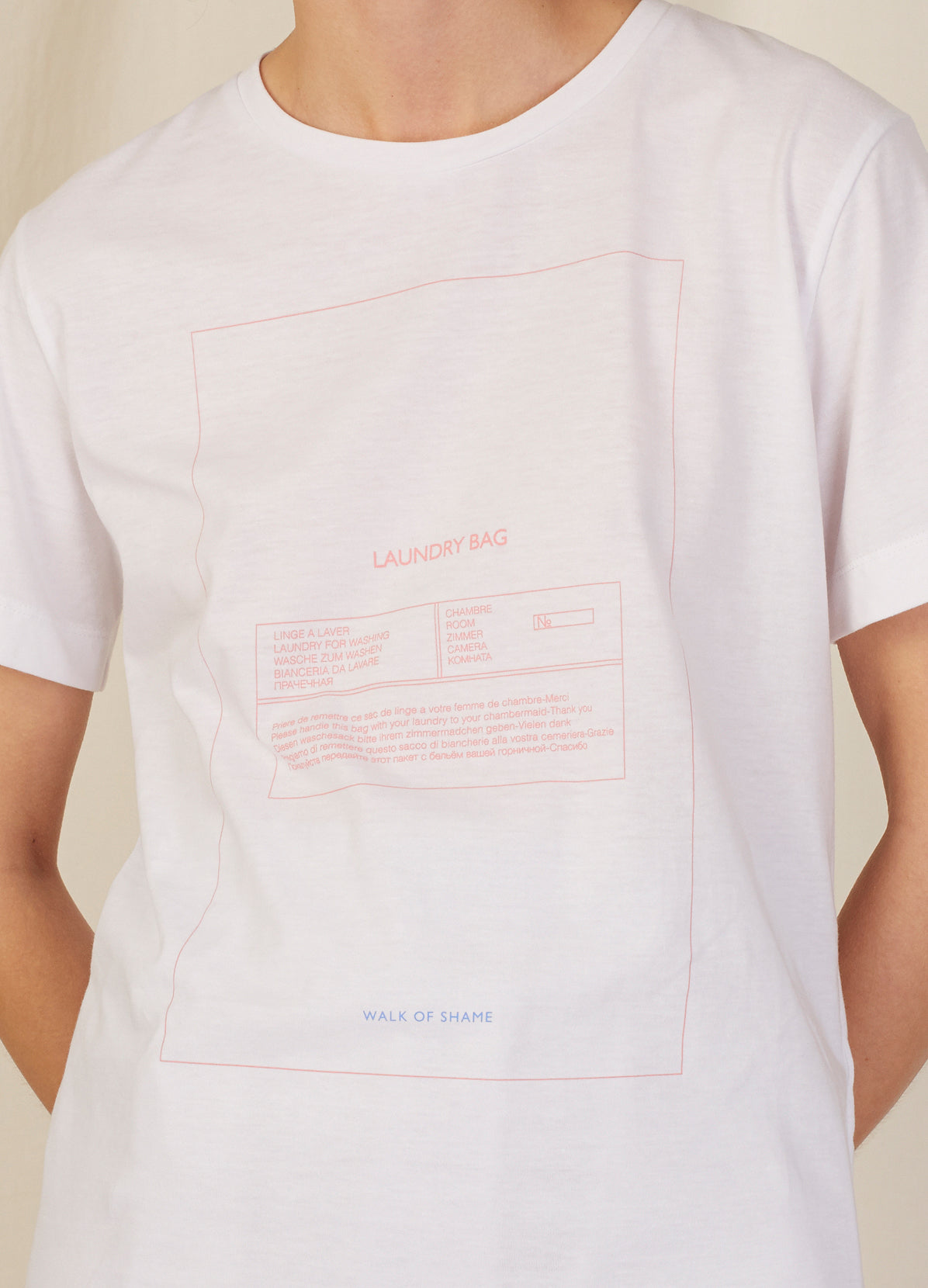 LAUNDRY BAG T-SHIRT
