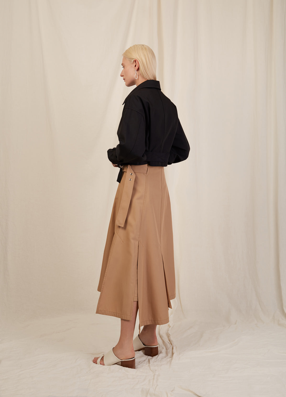 UTILITY BELTED SKIRT