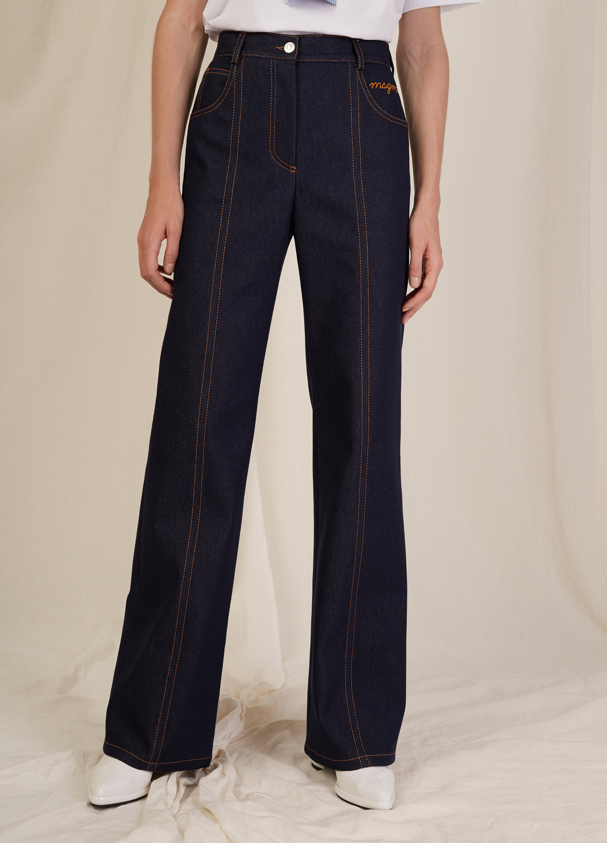 HIGH WAIST DENIM