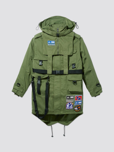 ALPHA X ADER ERROR M-65 FIELD JACKET