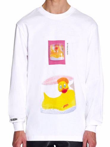 LONGSLEEVE WITH FRONT AND BACK PRINT