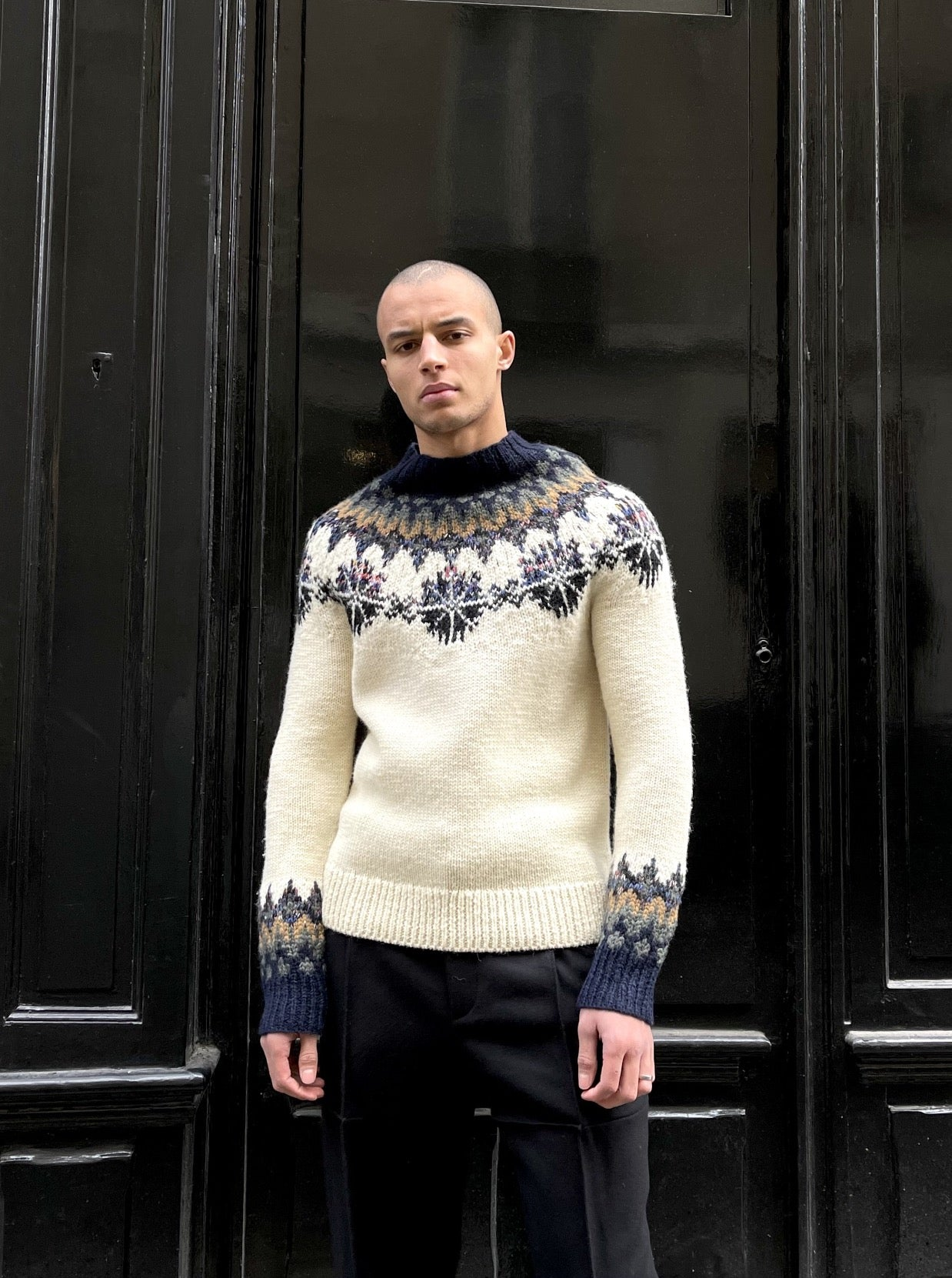 TILES SWEATER