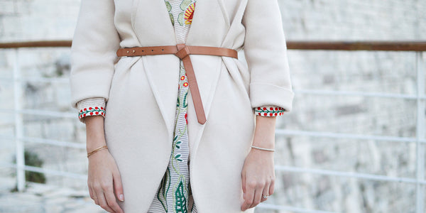 Leather belts that accentuate your figure!