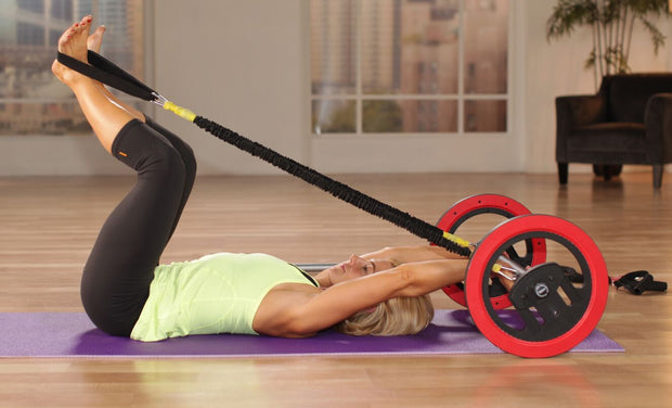 Pilates Wheel DLX Unit