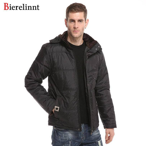 Loose Fit Casual Windproof Winter Warm Jackets Men Parkas Good Quality 2018 New Arrival Hot Sale Fashion Men's Clothing,986
