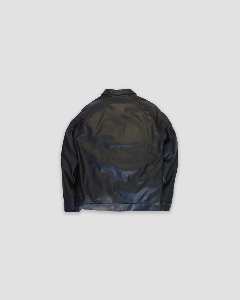 REDUX LEATHER BOMBER