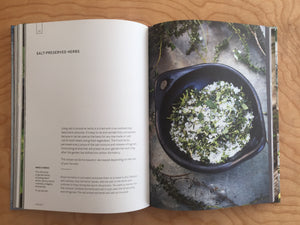 MAKE: salt preserved herbs