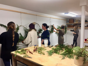 WORKSHOP: wreath making