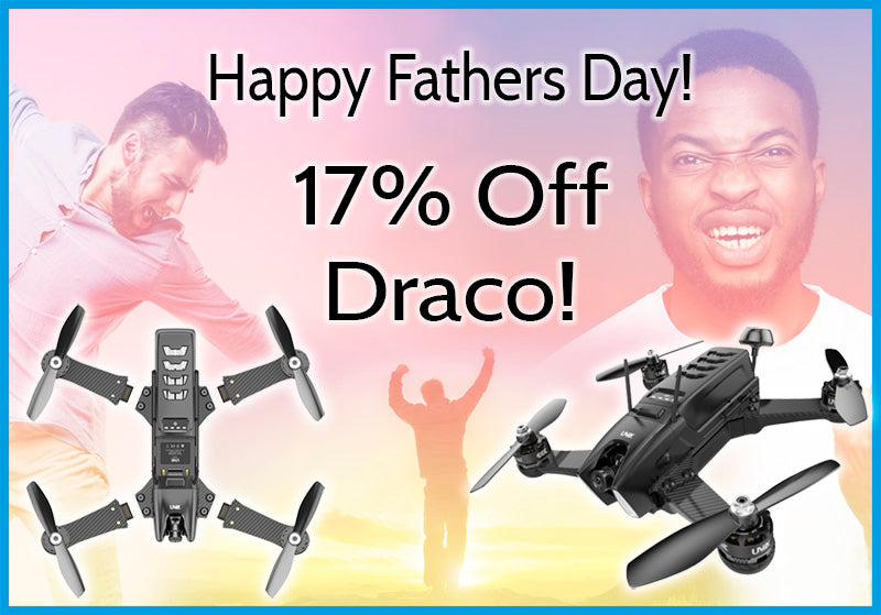 17% off Draco products for Fathers day